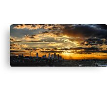 Raleigh St pano Canvas Print