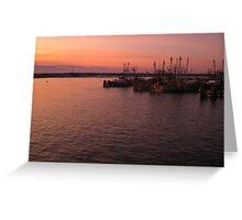 Harbor RI Greeting Card