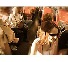 All Aboard The Railrunner! - Albuquerque in April Series 2009 Photographic Print