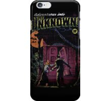 INTO THE UNKNOWN - SCARY RETRO POP ART iPhone Case/Skin