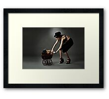 the babysitter 2 Framed Print