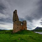 Ardvreck Castle at Dusk by bidkev