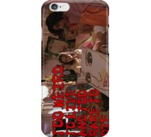 Too weird to live, and too rare to die. iPhone Case/Skin