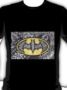Batman Zentangle Art T-Shirt