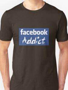 Facebook Addict T-Shirt