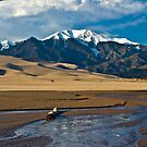 Medano Creek at the Great Sand Dunes by Paul Gana