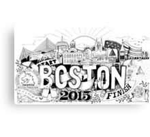 Boston Marathon 2015 Canvas Print