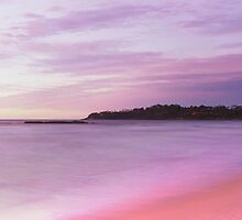 first light Narrawallee Beach - South Coast NSW by Steve Fox