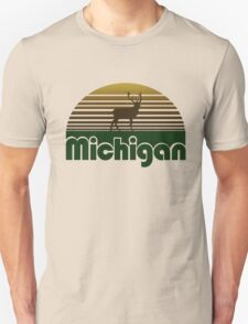 Retro Michigan T-Shirt