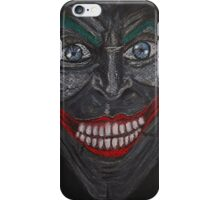 Injustice God Among Us Joker Face  iPhone Case/Skin