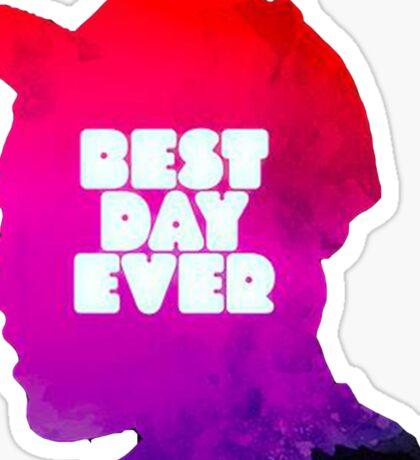 Mac Miller Best Day Ever  Sticker