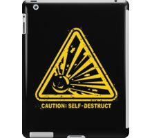 Self Destruct iPad Case/Skin