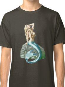 Mermaid on the Rocks Classic T-Shirt