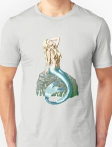 Mermaid on the Rocks Unisex T-Shirt