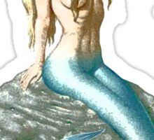 Mermaid on the Rocks Sticker