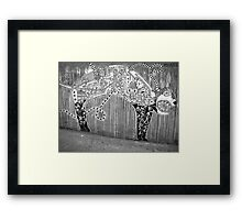 Cat Confessions Framed Print