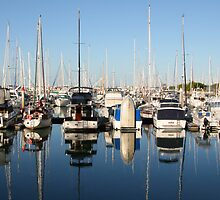 Marina Reflections by Helen Phillips