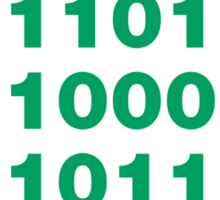 Silicon Valley / Binary Bitcoin Sticker