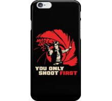 Shoot First iPhone Case/Skin