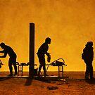 ShowerSilhouettes by Antonio Arcos aka fotonstudio