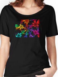 Petals Tee Women's Relaxed Fit T-Shirt