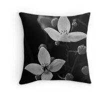 Native Flowers Throw Pillow