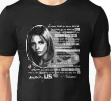 Buffy speech Unisex T-Shirt