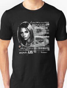 Buffy speech T-Shirt