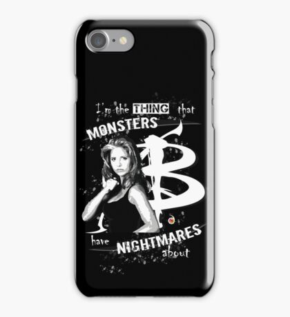 BUFFY: NIGHTMARES iPhone Case/Skin