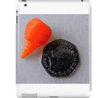 Carrot or Karat? iPad Case/Skin