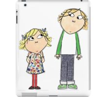 Charlie & Lola iPad Case/Skin