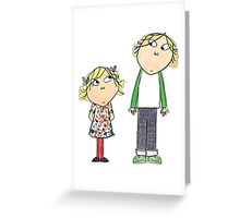 Charlie & Lola Greeting Card