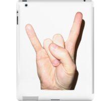 rock on  iPad Case/Skin