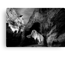 Natural Bridge Canyon Canvas Print