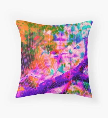 web of light Throw Pillow