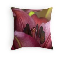 Valley of the Lily Throw Pillow