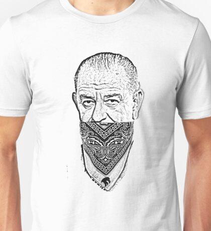 gangster lyndon b johnson Unisex T-Shirt