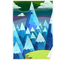 """Adventure Time- """"The Ice Kings Lair"""" Poster"""