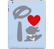 I Heart Thumper (Inverted) iPad Case/Skin