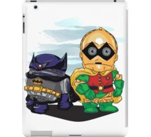 Bat-D2 and Rob-3PO iPad Case/Skin