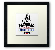 Boxing Club Framed Print