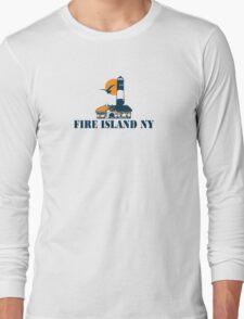 Fire Island - New York. Long Sleeve T-Shirt