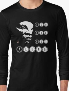 Face of BOE: You are not alone Long Sleeve T-Shirt
