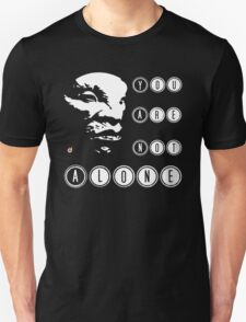 Face of BOE: You are not alone Unisex T-Shirt