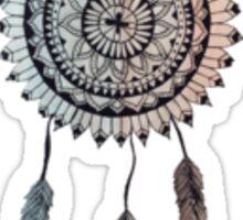 Minimalist Dream Catcher Mandala Sticker