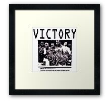 Victory Framed Print