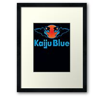 Kaiju Blue Framed Print