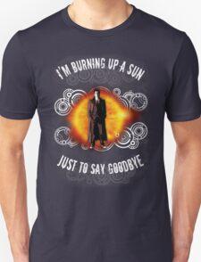 Doctor Who Burning a Sun Unisex T-Shirt