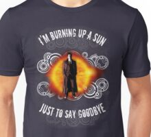 Doctor Who Burning a Sun Unisex T-Shirt