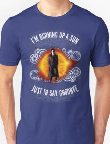 Doctor Who Burning a Sun T-Shirt